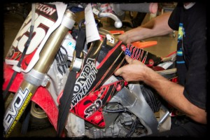 CRF Gas Tank and Plastics