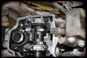 Camshaft at Top Dead Center