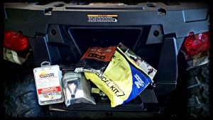 atv first aid kit firestarter