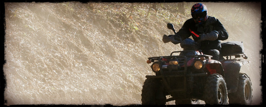 Using ATV for hunting