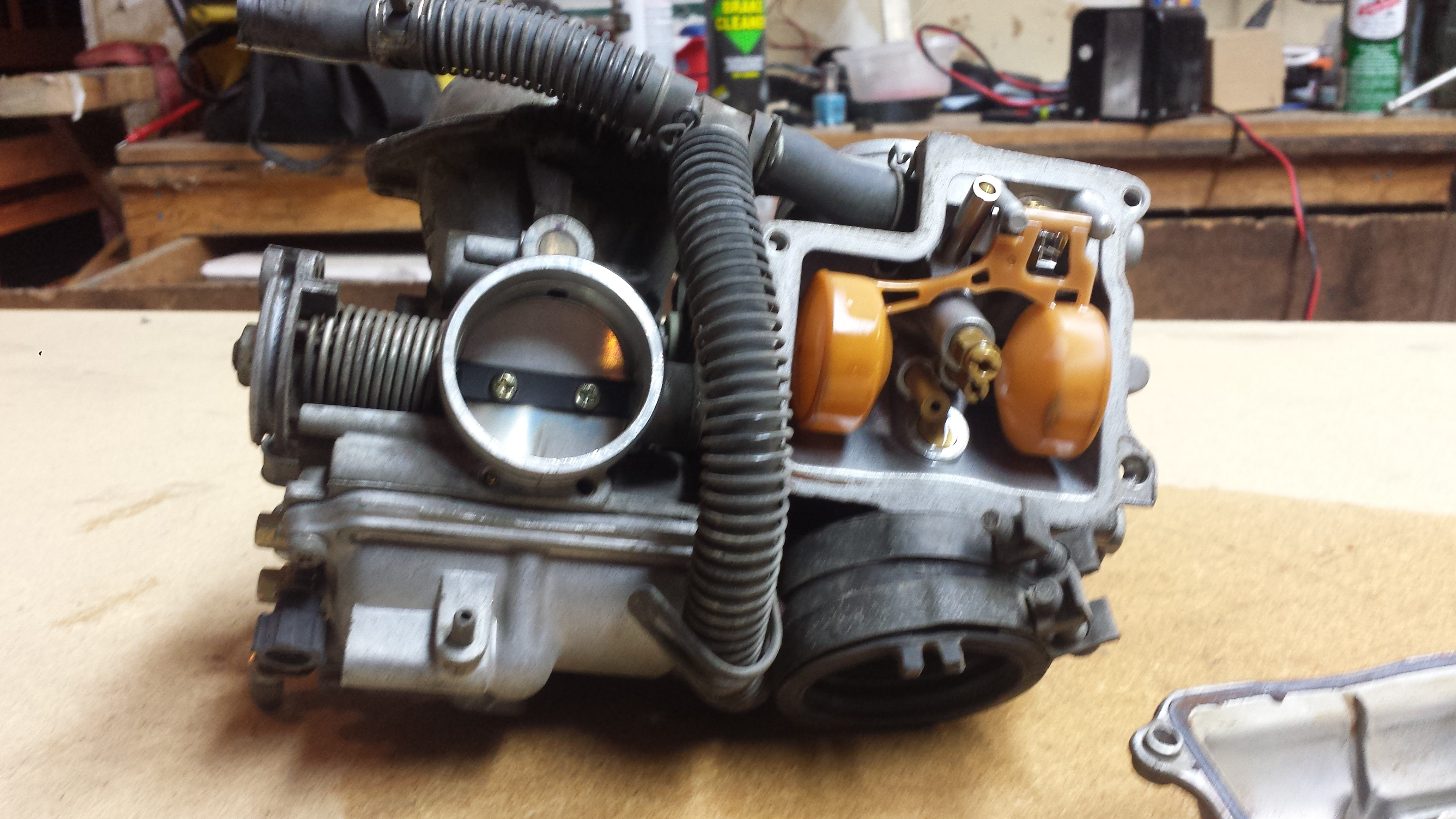 Honda Shadow V-Twin Carb Clean