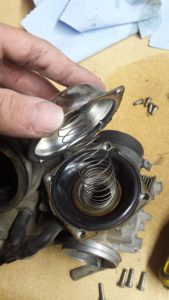 Carburetor Diaphragm Inspection