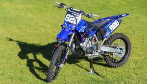 YZ250 with New Plastics