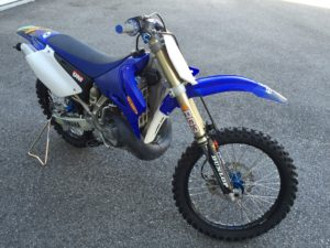 yz250 new suspension