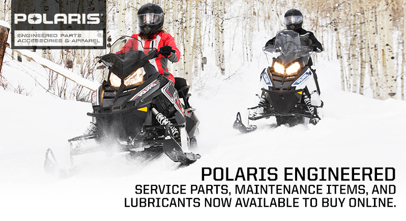 2017 Polaris Snow Parts Accessories Gear