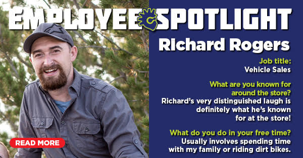 Employee Spotlight: Richard Rogers