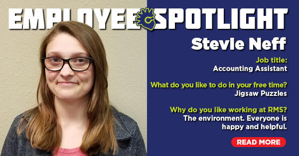 Employee Spotlight: Stevie Neff