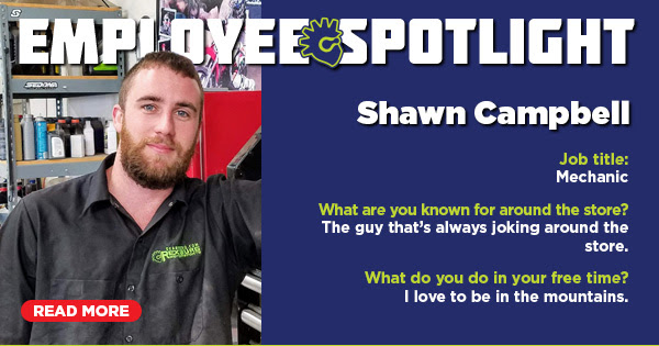 Employee Spotlight: Shawn Campbell