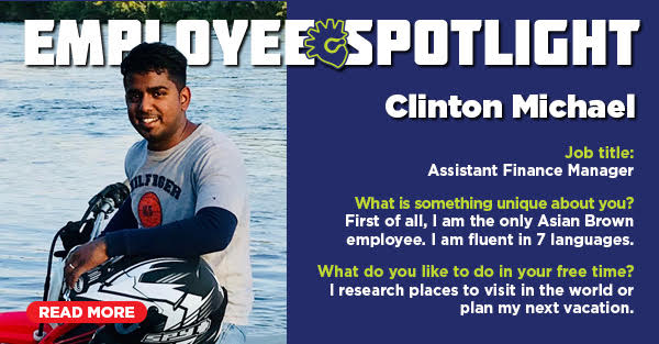Employee Spotlight: Clinton Michael