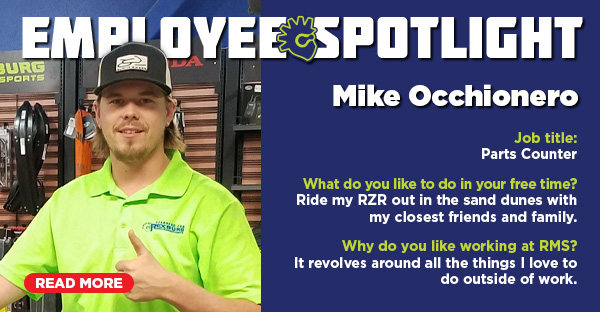Employee Spotlight: Mike Occhionero