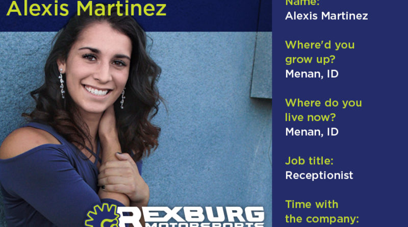 Employee Spotlight: Alexis Martinez