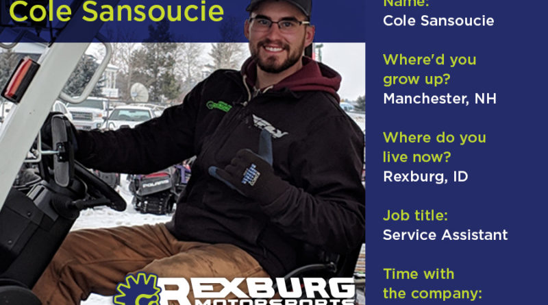 Employee Spotlight: Cole Sansoucie