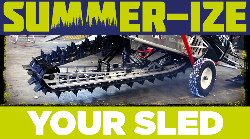 Tech Tip: Summer-ize your Snowmobile Now