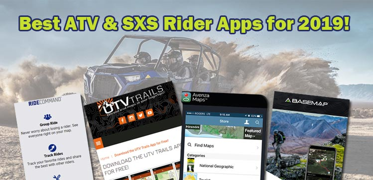 Best Apps For ATV and Side by Side Trails in Idaho for 2019!