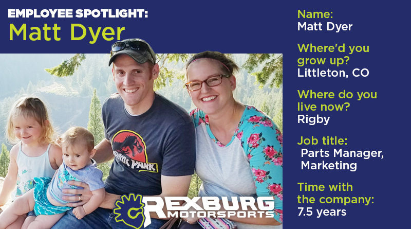 Employee Spotlight: Matt Dyer