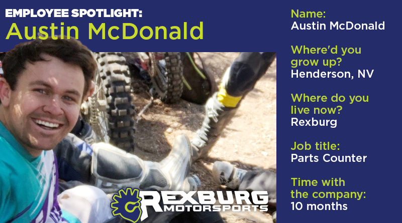 Employee Spotlight: Austin McDonald